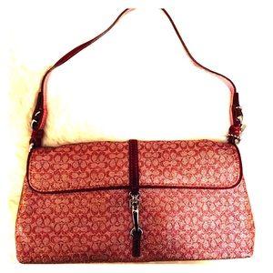 Coach mini envelop handbag